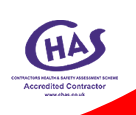 Abba Drains Ltd are CHAS Certified Contractors
